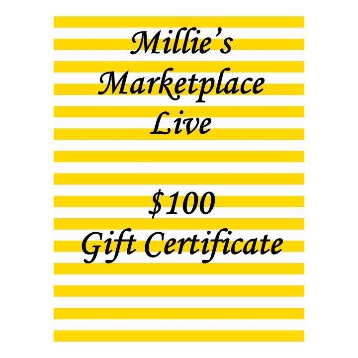 $100 Gift Certificate MML