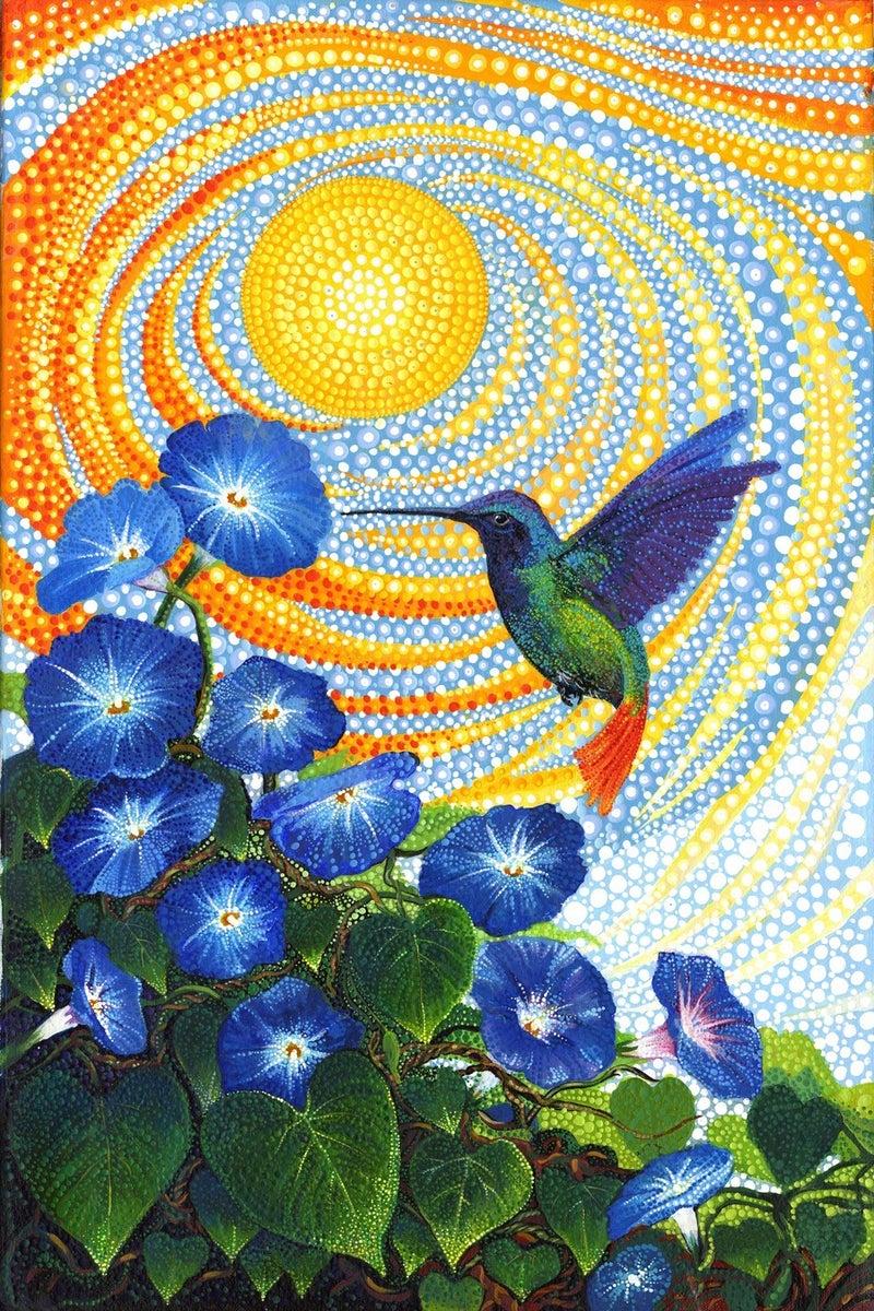 "Moda Hummingbird Panel (28"" x 44"")"