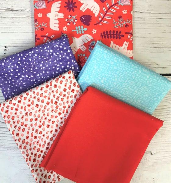 BYOK - Marbella Salmon kit (2 1/2 yards fabric)