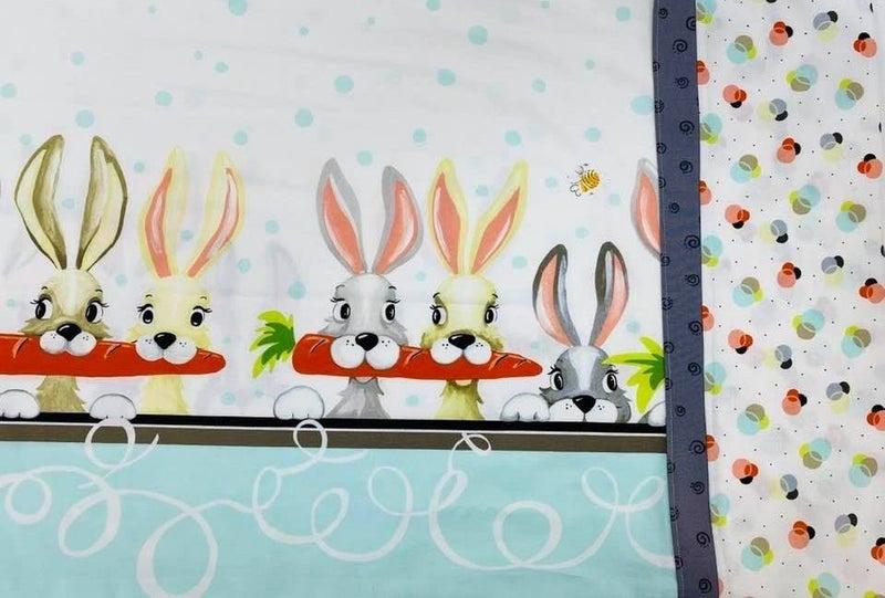 Kit:  Pillow Case Bunnies (Inc. Ptrn) Standard Size