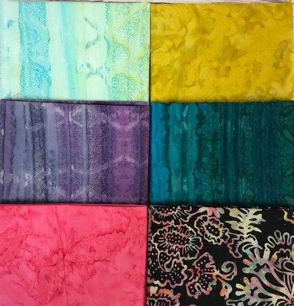 FQ Bundle (6) Batik Color Works