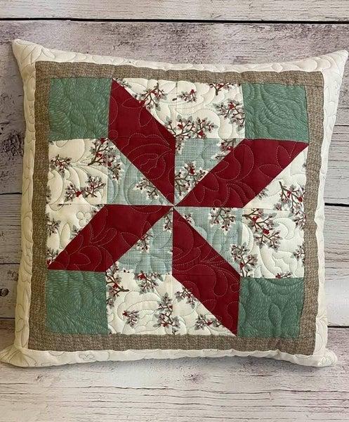 Kit:  Moda Block Pillow w/Zippity Do Done Zipper (need pillow form)