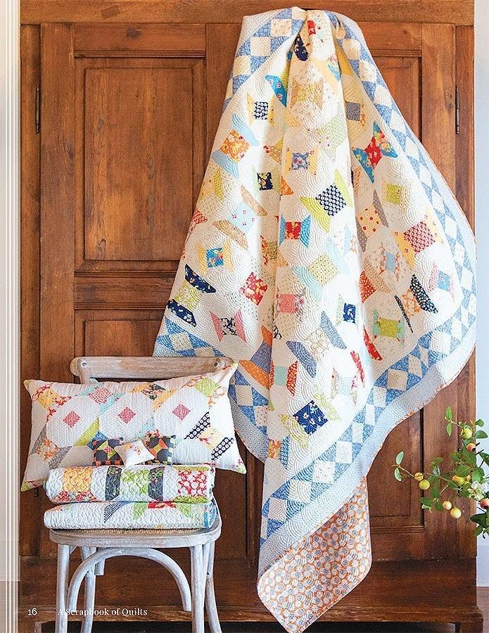 Book: A Scrapbook of Quilts