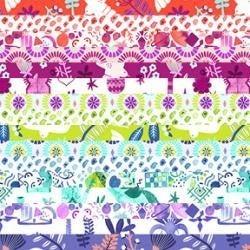"""RJR Marbella Jelly Roll (40) 2 1/2"""" Strips"""