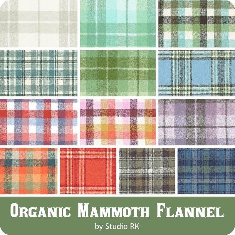 Organic Mammoth Flannel FQ Bundle Robert Kaufman