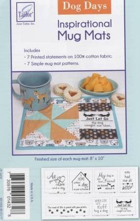 Pattern : Dog Days Insp. Panel for Mug Rugs
