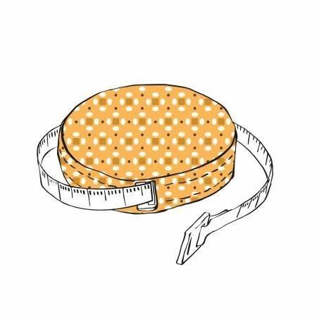 """Lori Holt 60"""" Tape Measure Gold"""