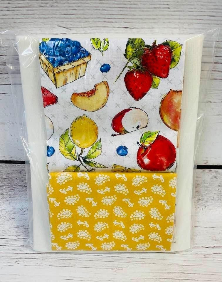 One Hour Basket Fruit Stand Yellow