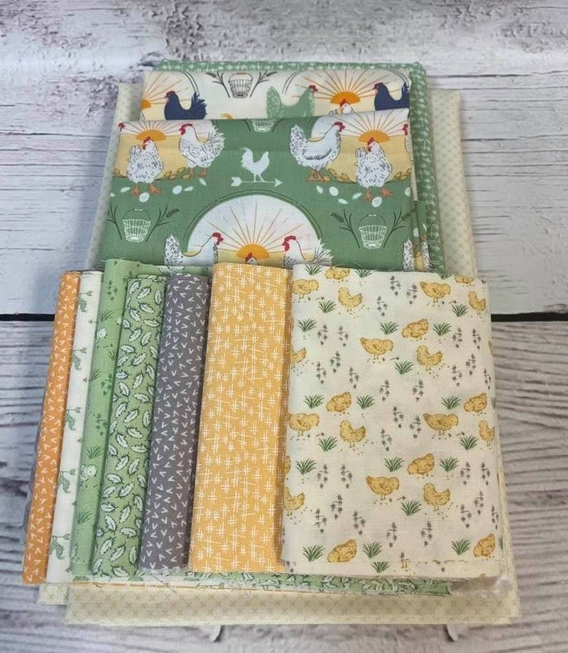 June Tailor Sewing Machine Cover Good Morning (Need Batting Kit)