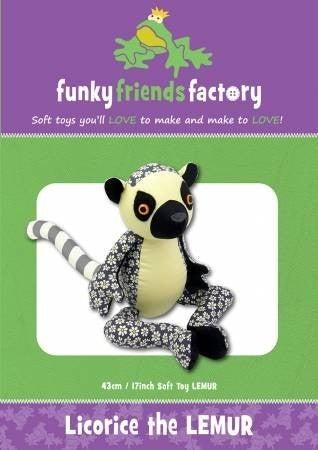Pattern:  Licorice the Lemur *Final Sale*