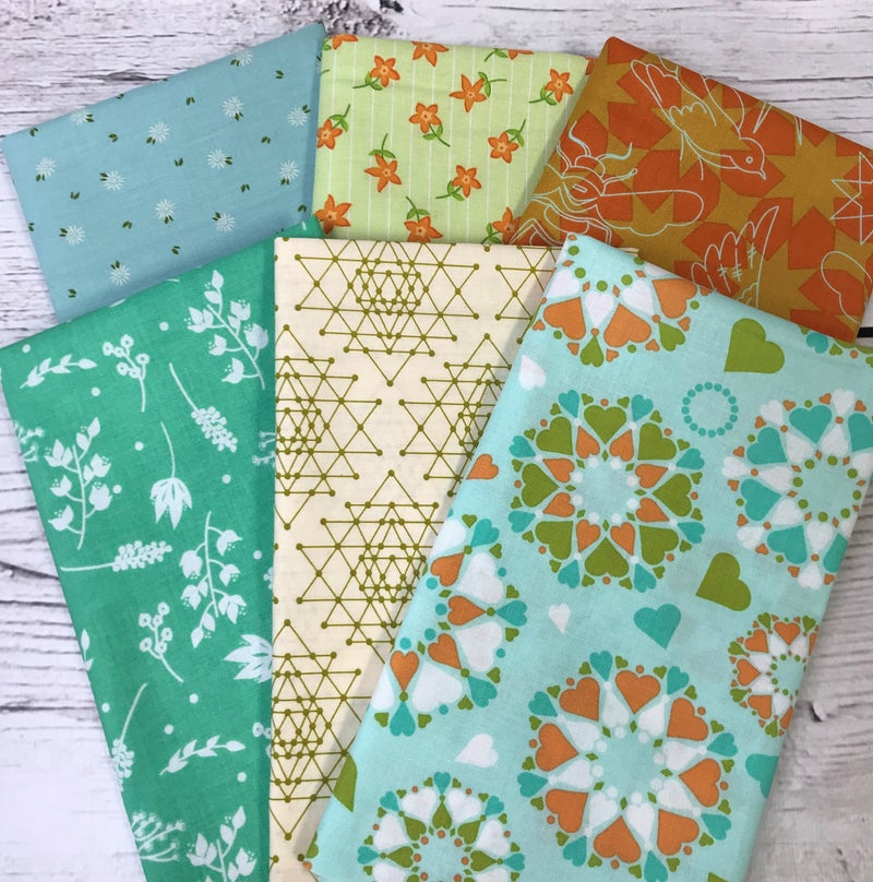 Fat Quarter Bundle (6) Summer Sweet