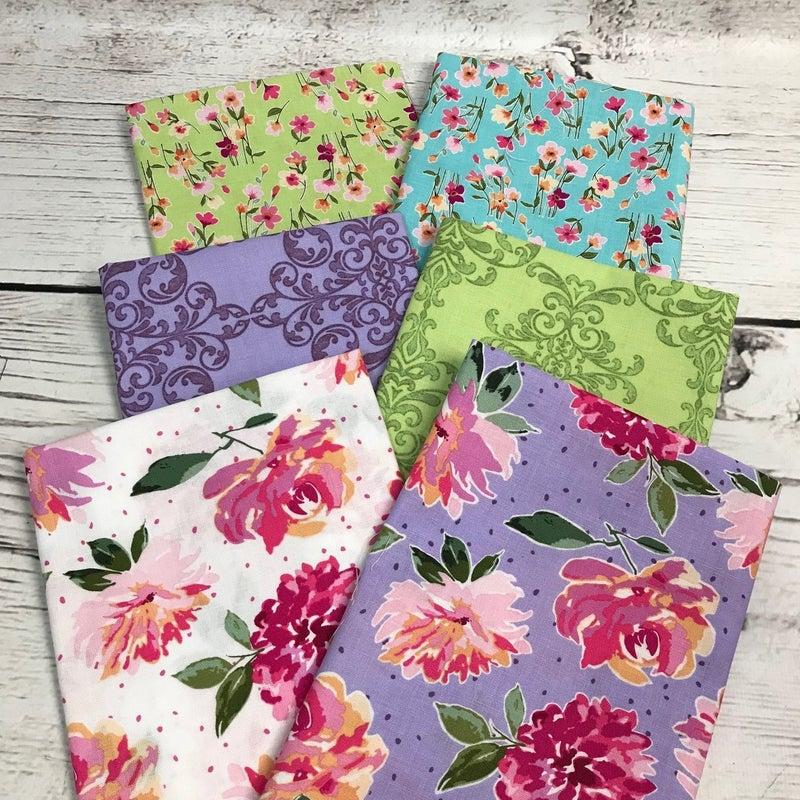 FQ Bundle (6) Lucy Floral