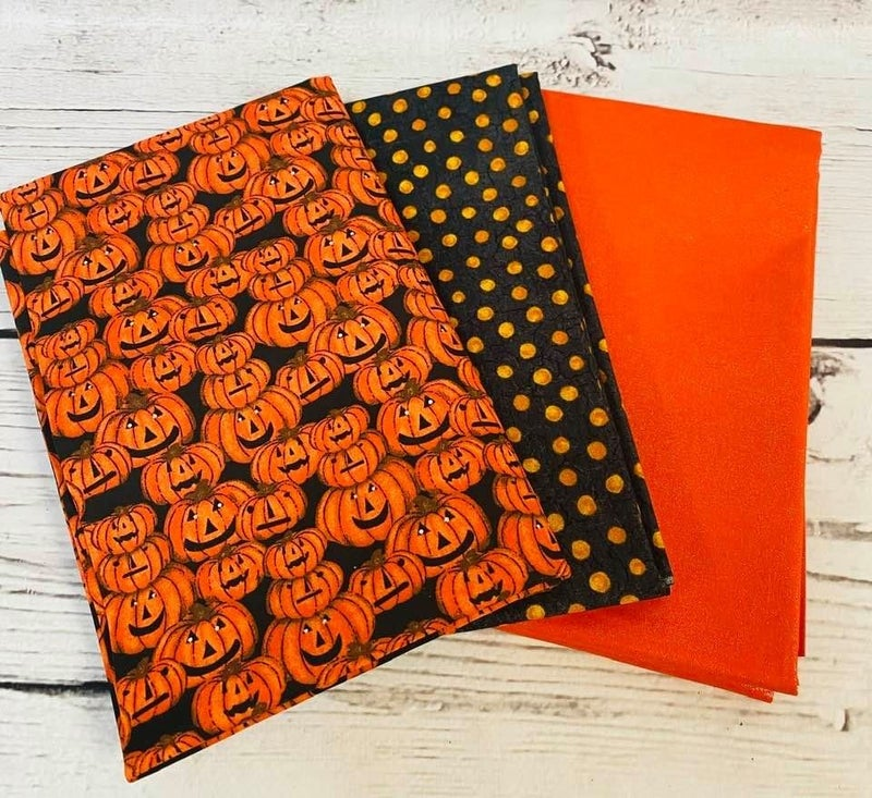 Halloween Bundle (3) One Yard Cuts