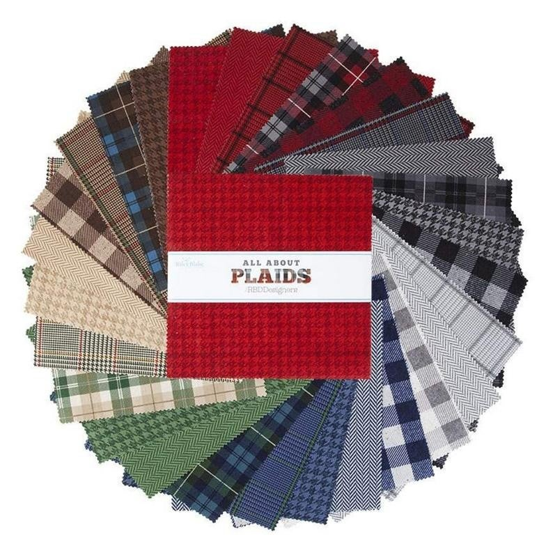 """10"""" Stacker All About Plaid by RIley Blake"""