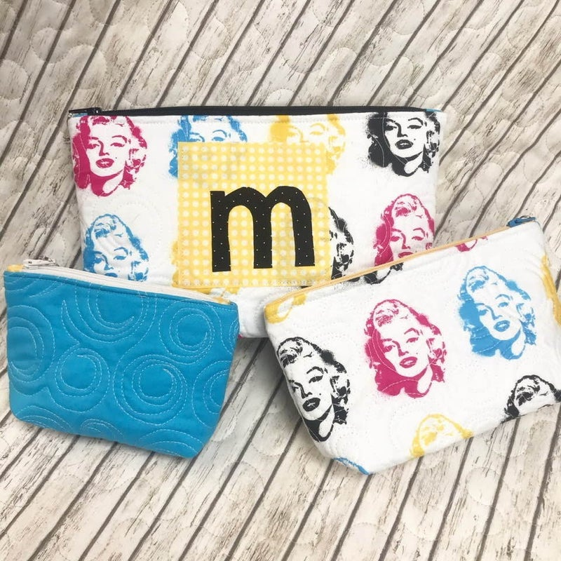 Kit:  Marilyn Letter Zip Kit (Includes Pattern)
