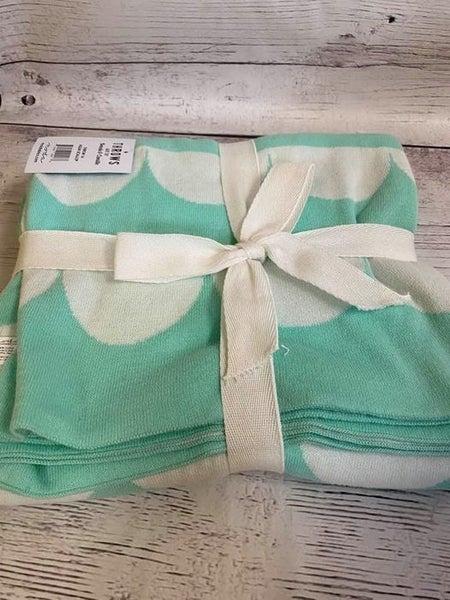 Moda Aqua Knit Throw