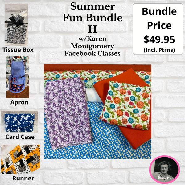 Summer Fun Bundle H w/Karen Montgomery