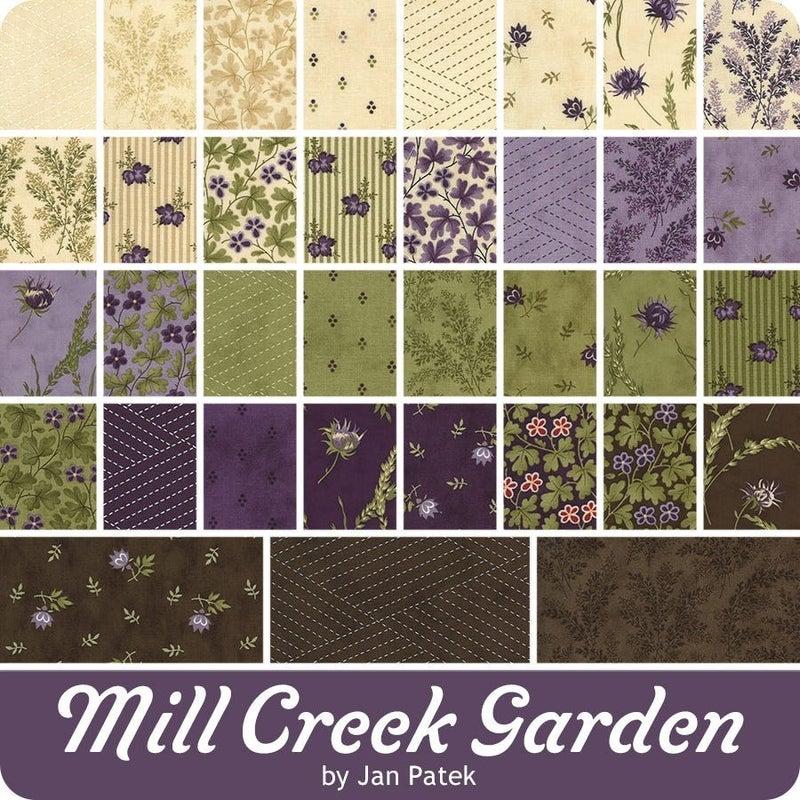Moda Mill Creek Garden Jelly Roll