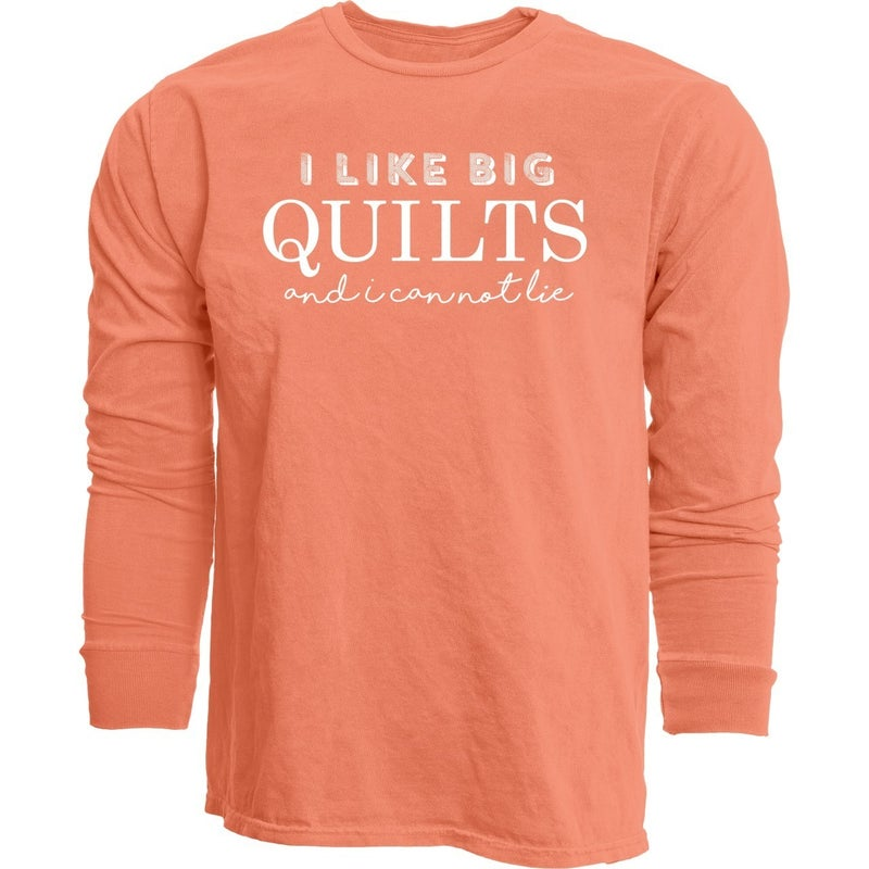 Long sleeved T-Shirt I Like Big Quilts