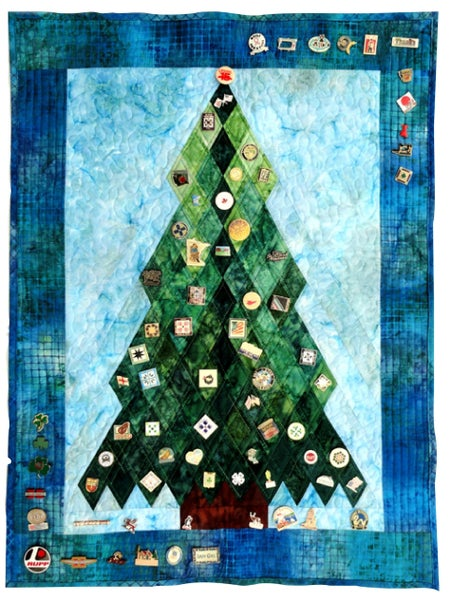Pattern Pine Tree Pin Quilt *Final Sale*