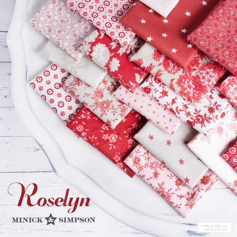 Fat Quarter Bundle:  Roselyn (22 SKUs)