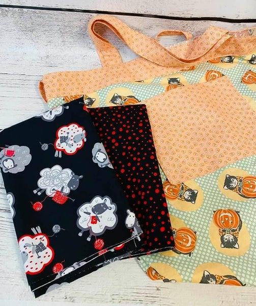 Kit: Simple Sack Knitting (Need Pattern)