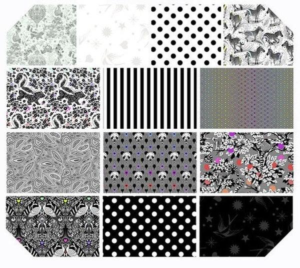 Tula Linework One-Yard Bundle (13 Fabrics)