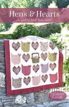 Pattern:  Hens and Hearts