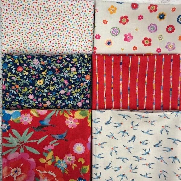 FQ Bundle (6) Lulu's Garden