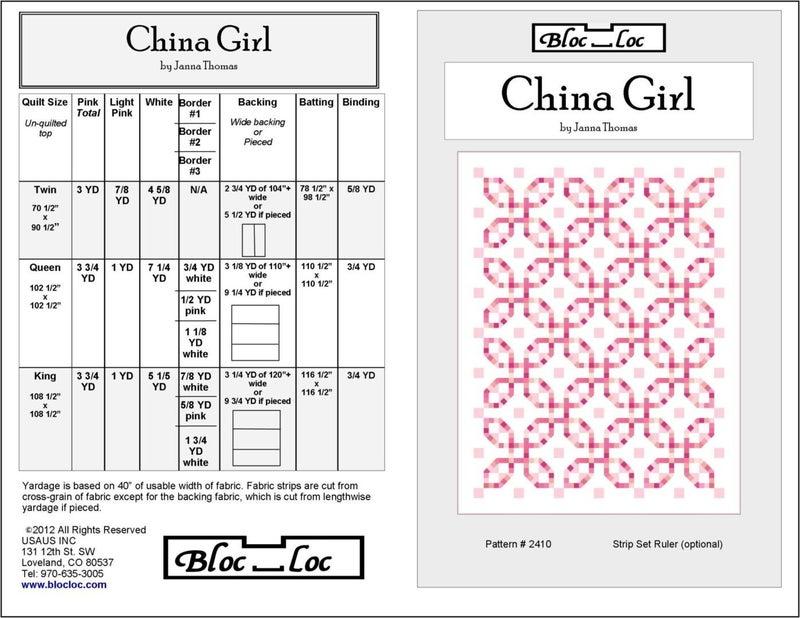 Pattern: China Girl