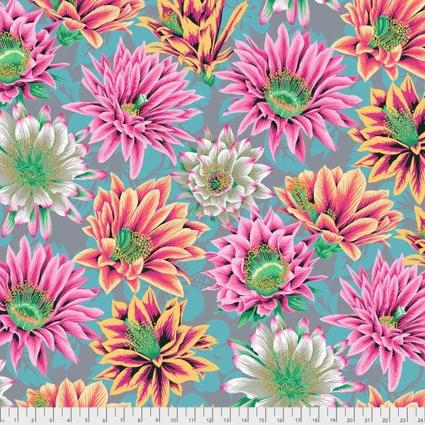 Kaffe -  Cactus Flower - Tawny - One Yard Cut