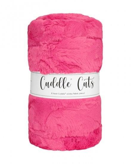 Two Yard Cut Cuddle - Carnation/Pink