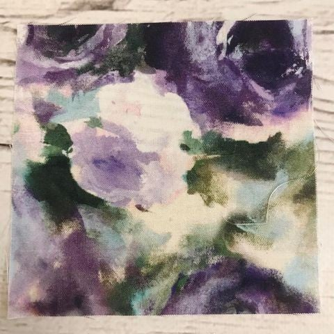 2021 Brown Bag Mystery Kit Double the Fun - Warm Purple Watercolor