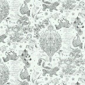 Tula Pink Lineworks Sketchy - 1 yard