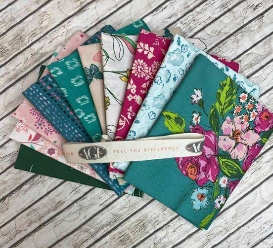 Fat Quarter Bundle:  Art Gallery Sharon Holland Ed. (10 fats)