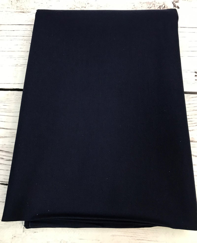 BYOK - Backing  Moda Bella Solid - Midnight  (3 3/8 yards)