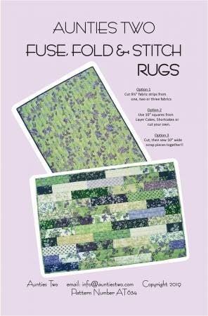 Pattern: Fuse, Fold & Stitch Rugs