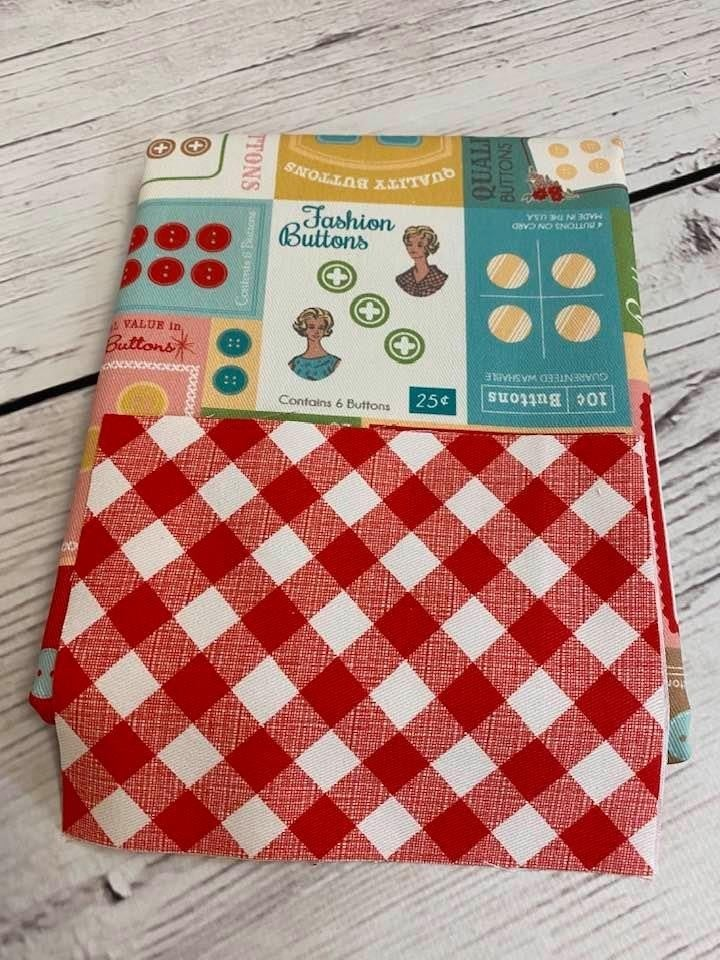 Kit:  Moda Bakeshop Reuseable Shopping Tote