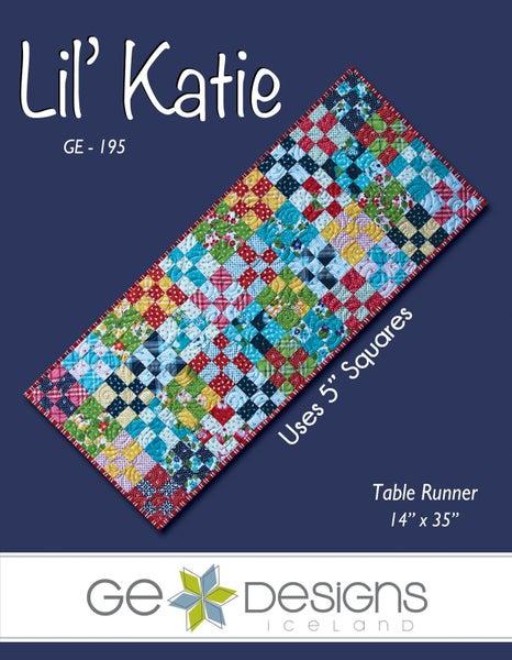 "Pattern: Lil Katie Table Runner 14"" x 35"""