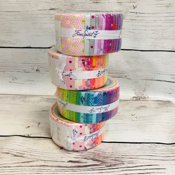 "True Colors Jelly Roll (42) 2 1/2"" Strips"