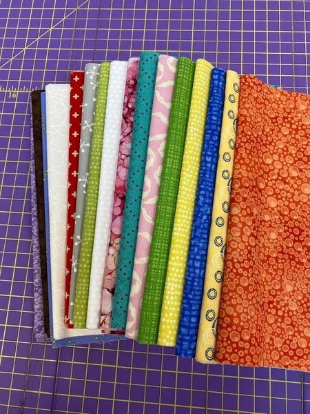 Paper Piecing Fabric