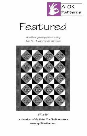 Pattern:  A OK 5-Yard Quilt Featured