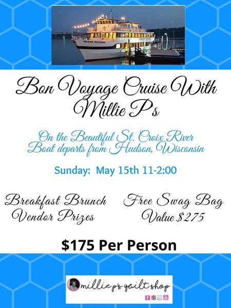 Cruising with Millie P's Spring Three-Hour Cruise May 15th