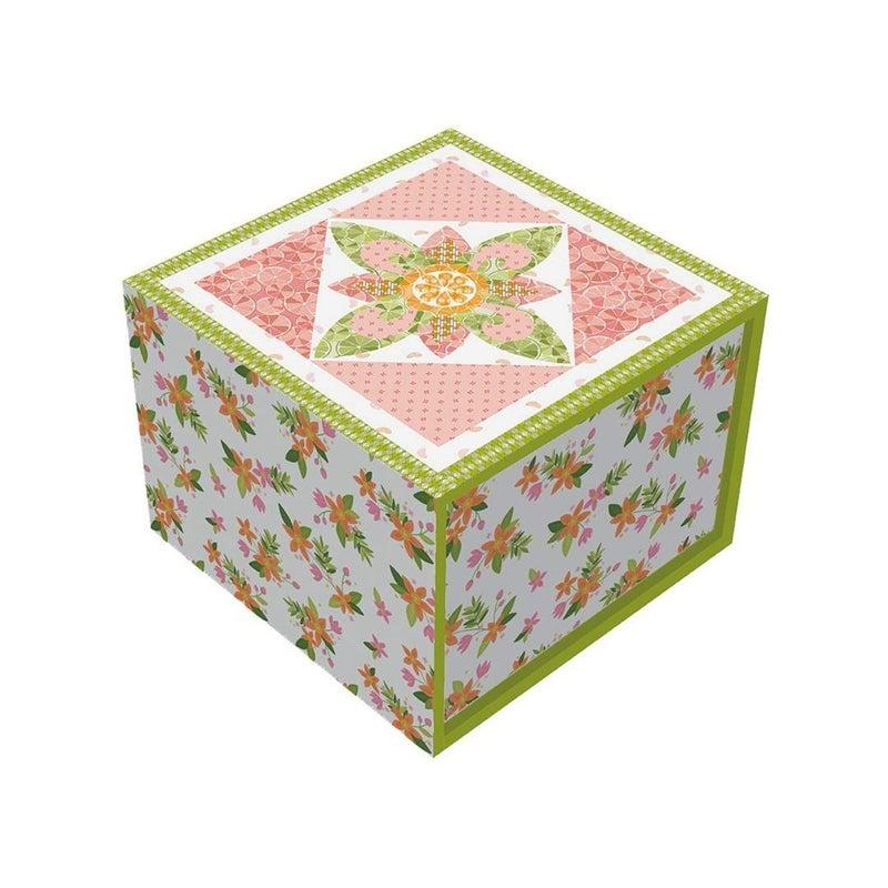 """Kit:  Riley Blake Grove Pink Lemonade Runner Kit Boxed 24"""" x 60"""""""