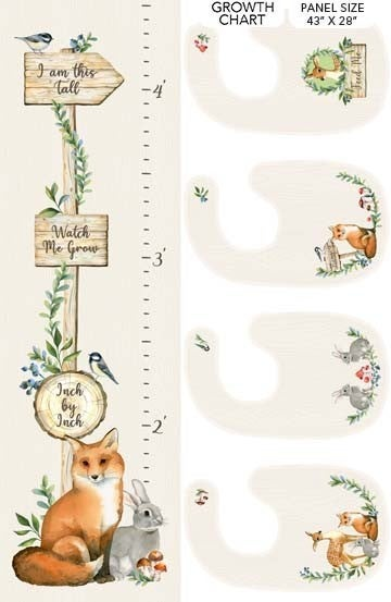 Watch Me Grow Growth chart and bibs