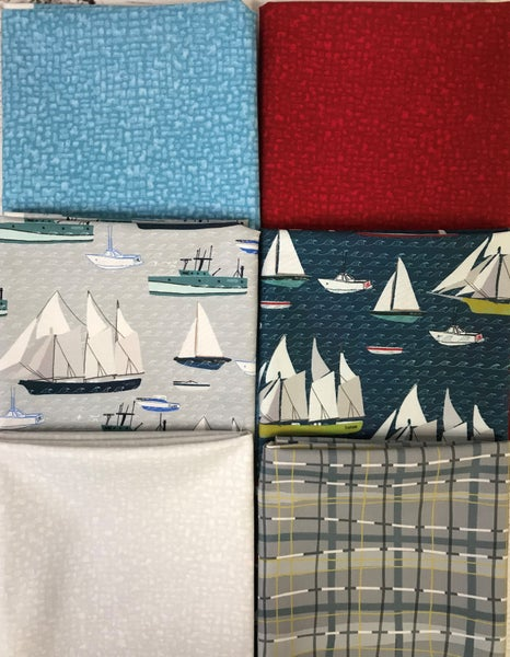 Fat Quarter Bundle (6) Ahoy Matey