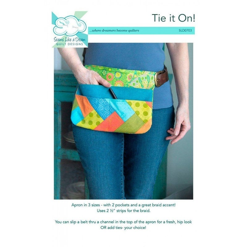 Pattern: Tie it On! Apron *Final Sale*
