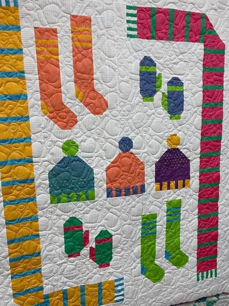 "Kit:  Frosty Fun True Colors Kit 46 1/2"" x 57 1/2""  NEED PATTERN"