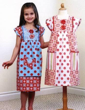 Pattern:  Rectangle Dress Sizes 2 thru 8