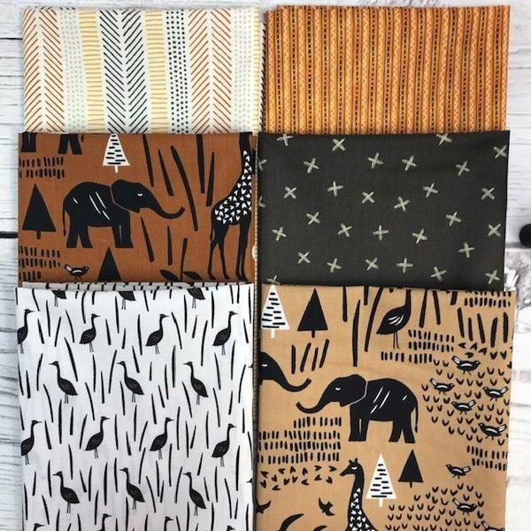 FQ Bundle (6) Safari Animals